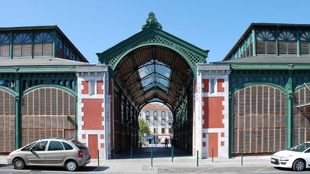 Lourdes' market hall is brimming with local produce. Pic: Roland Garre CC BY SA 3.0