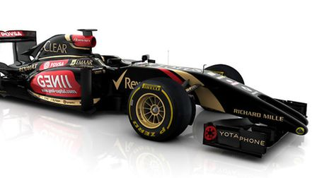 Lotus Renault's E22 - who's nose may already become the focus of the annual regulation arguments ahe