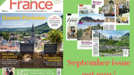 The September issue of Living France is out now