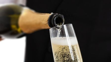 What is the ideal temperature to serve champagne? (c) Minerva Studio / Getty Images