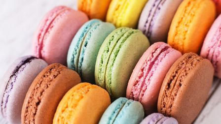 French macarons are the most Instagrammed European food according to a study by Gousto ©shepellaKm G