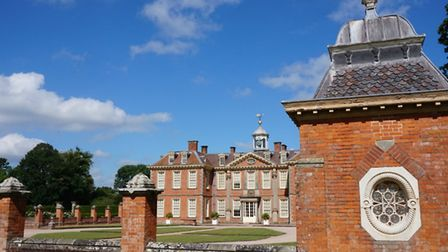 Hanbury Hall - Situated a mile east of the canal, this early 18th century country retreat is looked