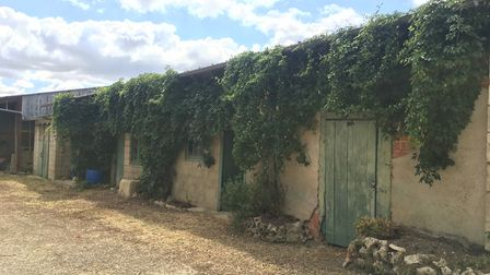 The couple plan to renovate La Roseraie and turn it into three gîtes