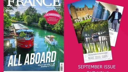 The September issue of FRANCE Magazine is on sale now