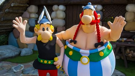 Asterix and Obelix are French culture stalwarts. Pic: Cambon