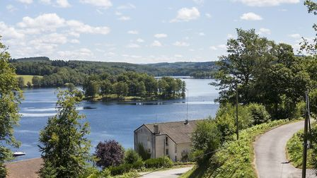 The beautiful Lake Vassiviere, which borders Creuse and Haute-Vienne