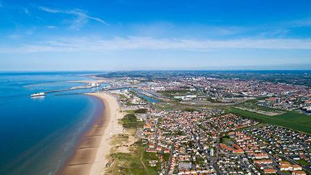 Calais from the air. Pic: Altitude Drone/iStock/Getty