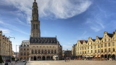 The beautiful Place des Heros in Arras. Pic: hstiver/iStock/Getty