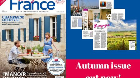 The Autumn issue of Living France is out now