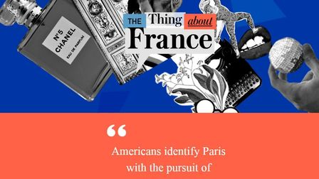 The Thing About France is a series of podcasts produced by the French Embassy