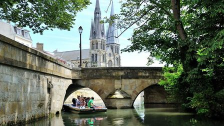 Chalons, the Sparkling Venice. Pic: OT Chalons-en-Champagne