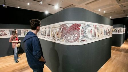 The Game of Thrones Tapestry will be crossing the Channel to Bayeux this autumn. Pic: Ulster Museum