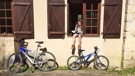 Cycling is a favourite pastime for the whole family