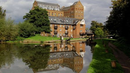 Coxes Mill, which was served by the River Wey's last barges (photo: Derek Pratt)