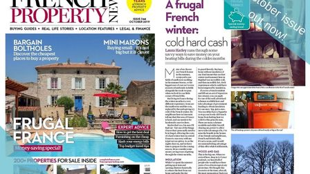 The October 2019 issue of French Property News is out now!