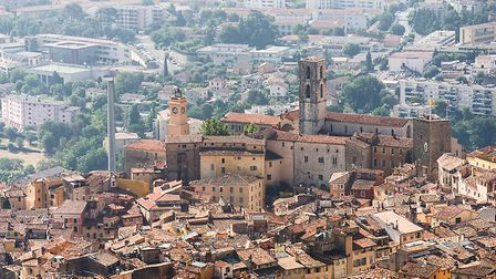 The beautiful old town of Grasse, famous for its perfume industry. Pic: Fyletto/iStock/Getty