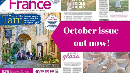 Living France October issue out now!