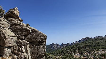 View of the Bavella range in Corsica (c) aronaze/Getty Images