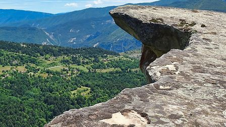 Rock plateau close to Annot in France (c) Jens Teichmann/Getty Images