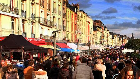 The Foire aux Harengs at Dieppe.Pic: CRT Normandie - Jean Decaux