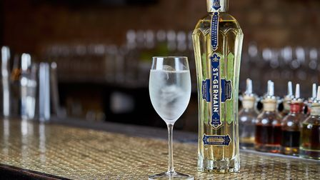 St Germain liqueur has up to a thousand elderflower blossoms in every bottle