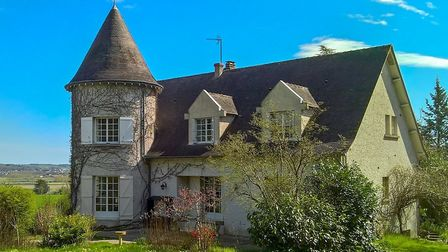 Château-style home for sale in La Roche-Posay with Leggett Immobilier