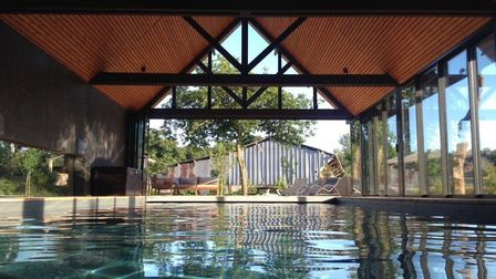 Domaine du Grenier has an indoor heated swimming pool
