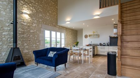 The property came with barns that have been converted into gites