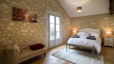 Anne-Marie decided to offer a luxury hotel standard of accommodation in the gites