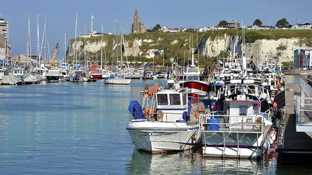 Rick Stein visits the Normandy port of Dieppe in the first episode ©Musat Getty Images