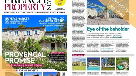 The November 2019 issue of French Property News is out now!