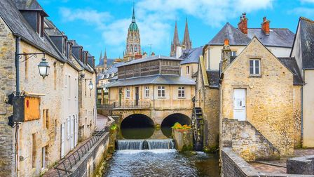 Scenic Bayeux is nearby (c) e55evu/Getty Images/iStockphoto