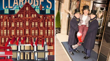 French designer Christian Louboutin will design the Claridge's Christmas tree for its 10th anniversa