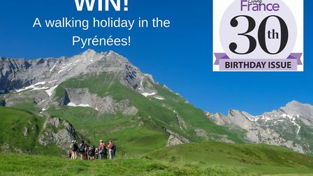 Win a walking holiday with Purely Pyrenees © David Serano Grocq
