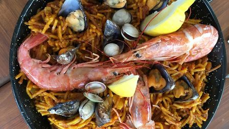 Fideuà is a local Catalan dish, similar to paella (c) Vicky Leigh