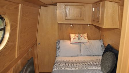 The cabin comes with a heated cupboard (photo: Andy R Annable)