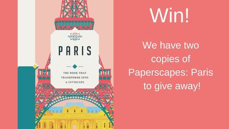 Enter our competition to win a copy of Paperscapes Paris