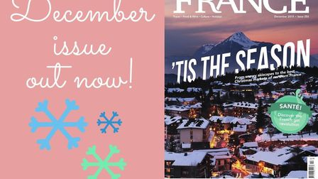 Get your hands on the December issue of FRANCE Magazine now