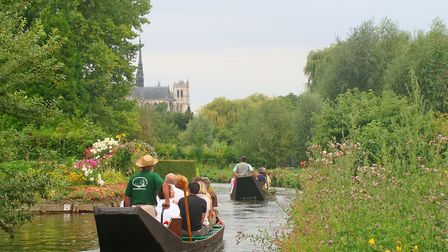 Amiens' stunning Hortillonnages. Pic: Amiens/Somme Tourisme