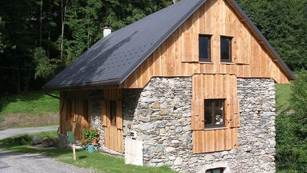 The old workshop is now a gîte