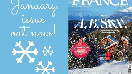 The January issue of FRANCE Magazine is out now