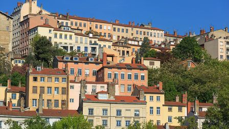 The colourful old apartments of Croix Rousse (c) SanderStock / Getty Images