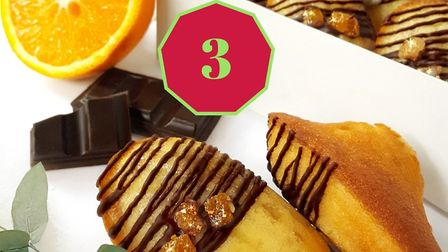 Win a gift box of French Christmas madeleines from Bisou les Madeleines