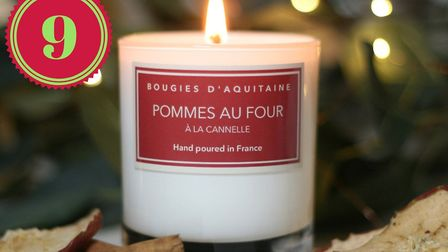 Win an apple and cinammon candle from Bougies d'Aquitaine