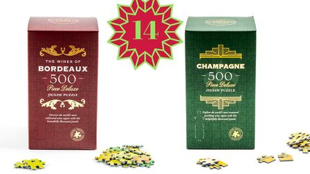 Win two wine-themed jigsaws from Bamboozled