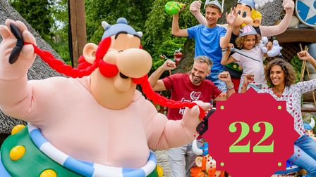 Win family tickets to Parc Asterix