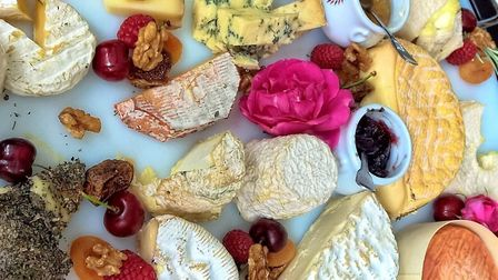 Everyone has a favourite French cheese © Janine Marsh