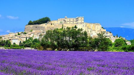 Grignan surrounded by lavender fields (c) vwalakte GettyImages
