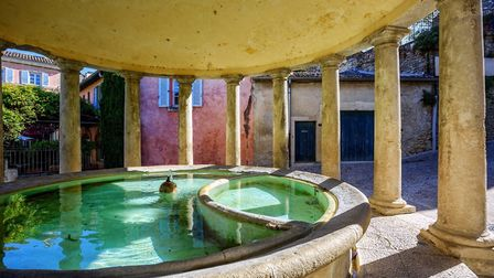 The neoclassical Lavoir du Mail washhouse in Grignan (c) Xantana GettyImages