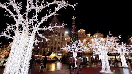 Lille is filled with beautiful illuminations at Christmas. Pic: CRTC Hauts de France/B Guilleux